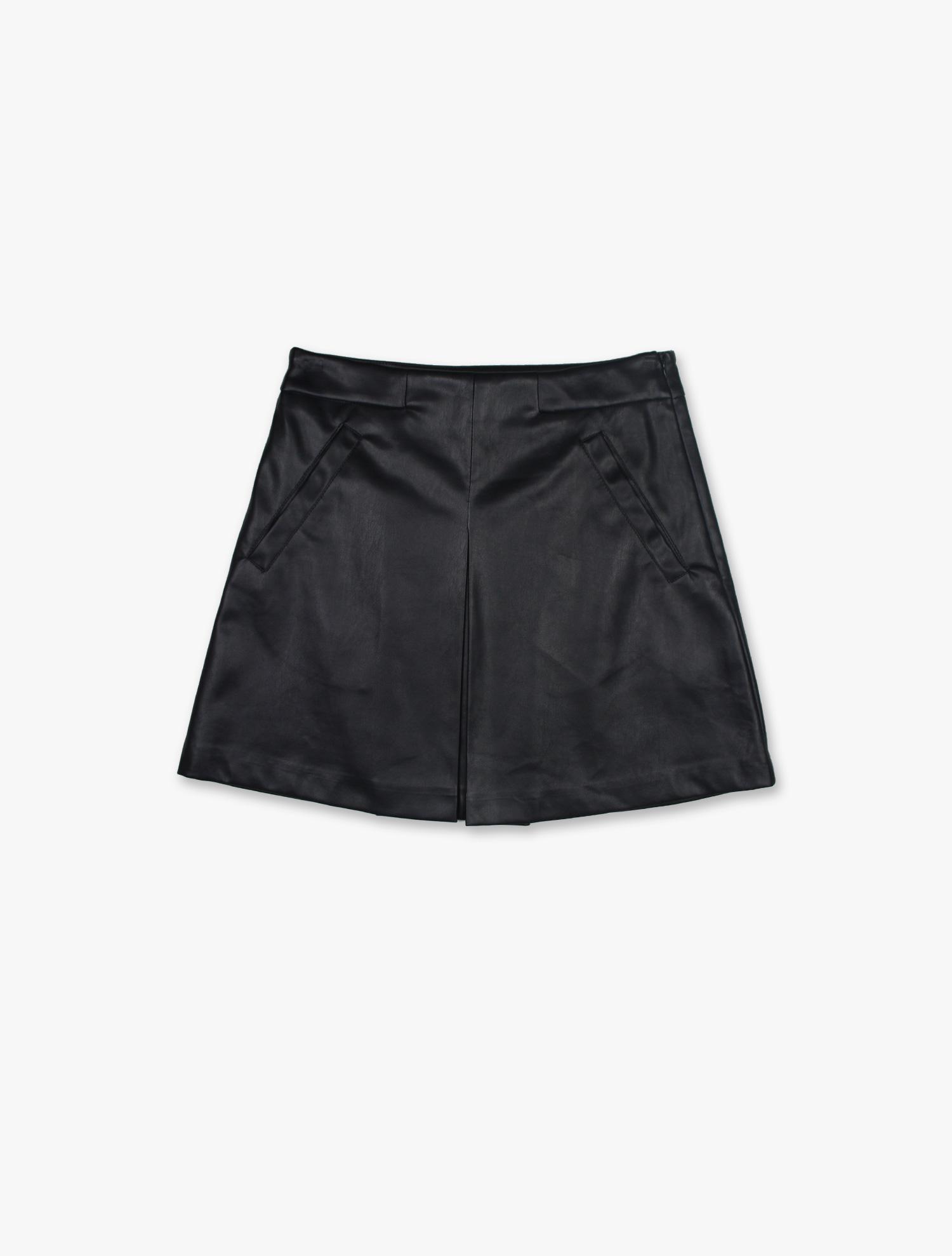 Mini-saia efeito Pele